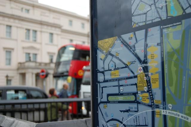 Knightsbridge in London
